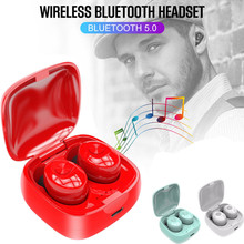 XG12 TWS Bluetooth Wireless 5.0 Earphones Waterproof Earbud Mini In-ear HIFI Headset