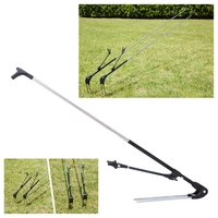 Fish Rod Bracket Support Adjustable Angle Holder Convenience Inserting Ground 1 7M 2 1M Fishing Telescopic
