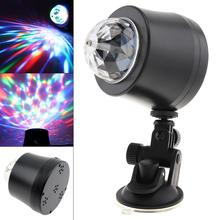 5V 3W USB LED Car DJ Colorful Stage Light Crystal Magic Atmosphere Lamp Decoration for Bar KTV Birthday Party