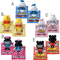 2014 New arrive 1 piece  Mickey Minnie Kids Sleepwear, hood warm child bathrobe, Free size Baby Children Robes