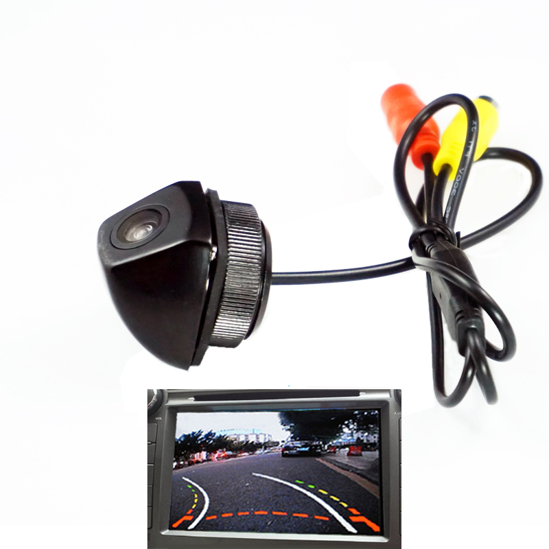 HD CAR REAR VIEW REVERSE CAMERA FOR BMW X6 E71 E72 X5 E53 E70 X3 E83 Back Up Reverse Camera  Dynamic Trajectory Aluminum