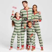 35ce27e484 Onesies Matching Family Christmas Pajamas Baby Kids Boys Adult Pajama Sets  Children's Pajama For Couples Ladies