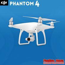 Drone profissional DJI com controle remoto de 8 canais atuante até 5.000 m de distância. Câmera 1.080P HD e vídeos em 4K. Controlado por APP ou controle remoto