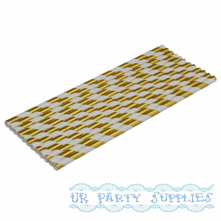Straws Green Rugby Stripes Solid Metallic Silver Birthday Silver Stripes Snake House Paper Straw Mix Green Polka Dots Baby Shower