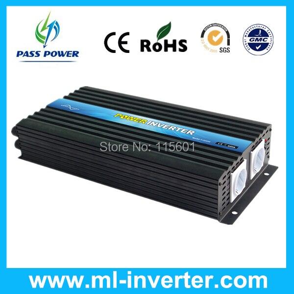 China Manufacturer Power Inverter 2500W Pure Sine Wave Inverter Off Grid type, DC to AC 12v 220v