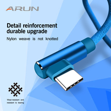 Arun USB C for samsung galaxy s9 Cable type c for Samsung s9 s8 One plus 5t XiaoMi mi6 mi5 1M 2Mhuawei Fast Charging Data Cable