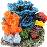 Aquarium Artificial Lively Coral Decoration Fish Tank Resin Decorative Sea Landscaping Coral Ornament