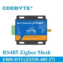 E800 DTU(Z2530 485 27) طويلة المدى RS485 CC2530 2.4GHz 500mW جهاز الإرسال والاستقبال اللاسلكي 27dBm جهاز ريسيفر استقبال وإرسال وحدة rf