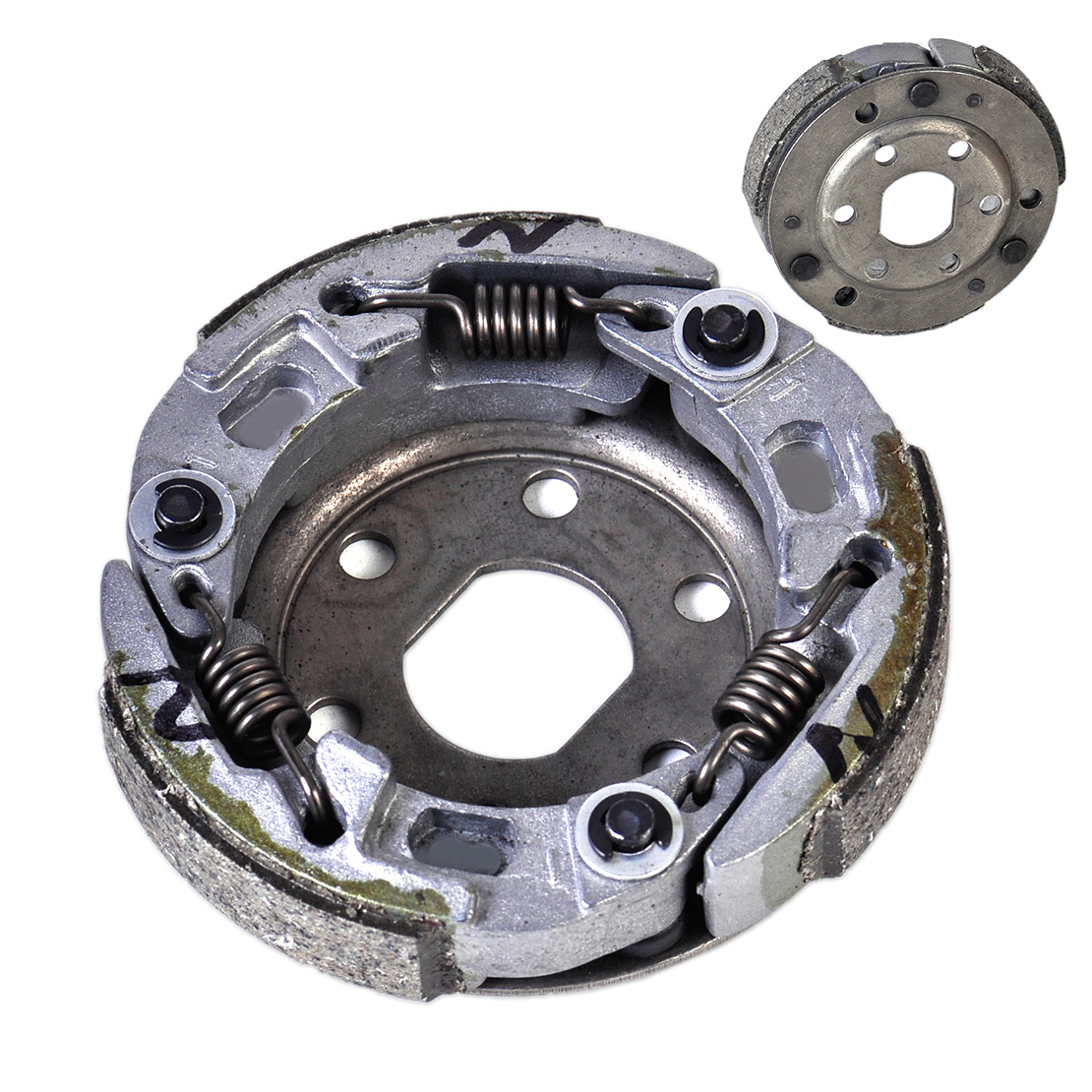 US $20 23 12% OFF|DWCX Performance Racing Clutch Replacement for GY6 50cc  139QMB Scooter Honda Yamaha Loncin ATV Quad Moped Suzuki Shineray-in  Engines