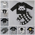 Recém-nascidos Crianças pequenas meninos roupas conjunto de roupas de Bebê menino moda criança roupas de bebê, criança bebe set Idade 0-2 ano C6275