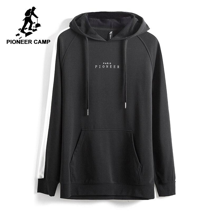 Camp pionnier 2017 nouveau Printemps sweat à capuche hommes marque vêtements mode mâle hoodies top qualité casual survêtements AWY702022