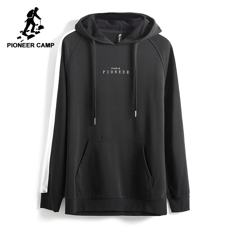 Pioneer Camp 2017 new Spring hoodie sweatshirt men brand clothing fashion male hoodies top quality casual tracksuits AWY702022