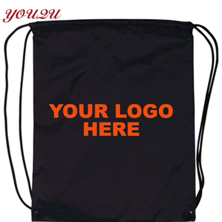 Custom drawstring bag logo printing by own style-in Drawstring Bags ... 7a4903a138f90