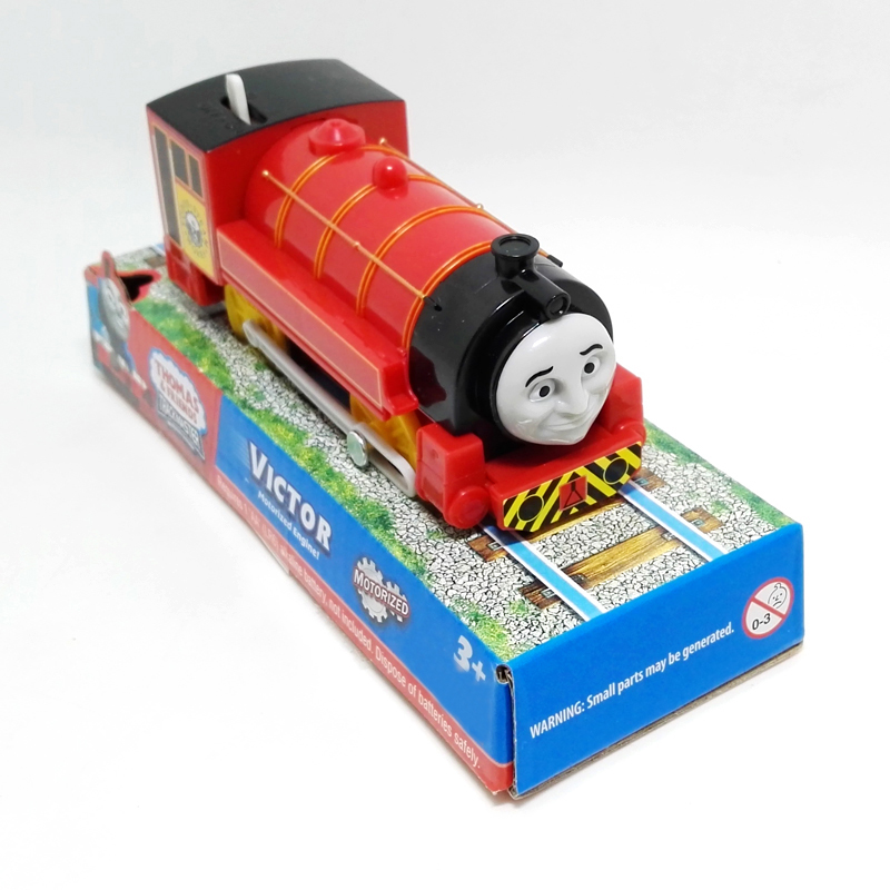 T0152 Victor Electric Thomas and friend Trackmaster engine Motorized train Chinldren kids plastic toys gift with package NIB