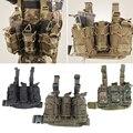 M4/M14/AK pernas Multifuncionais pendurado Saco de munição MOLLE 1000D-resistente ao desgaste Militar Do Exército Tactical gear Airsoft saco de caça
