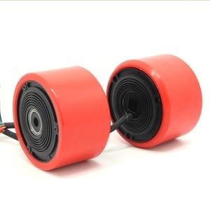 Image 3 - 75mm 83mm Elektrische Skateboard Bürstenlosen Motor Räder Kits Elektromotor Räder Für Skateboard Longboard E skateboard
