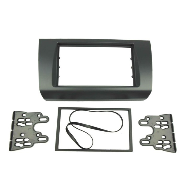 1 Or Double Din Fascia For SUZUKI SWIFT 2005-2010 DVD Panel Dash Mounting Trim Kit Frame Bezel