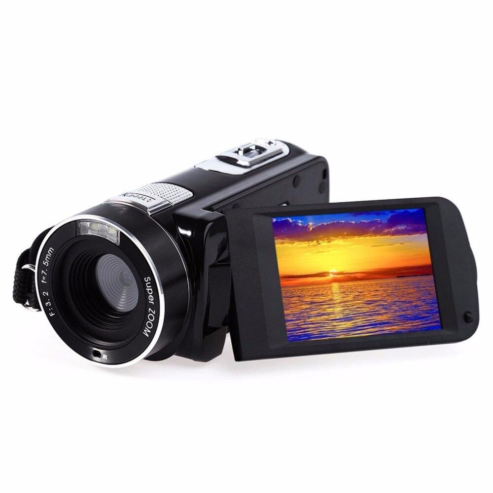 Caméras numériques 2.7 pouces DV caméra vidéo professionnelle HD 720 P FHD1920X1080 24MP caméra avec 8 scènes modèle