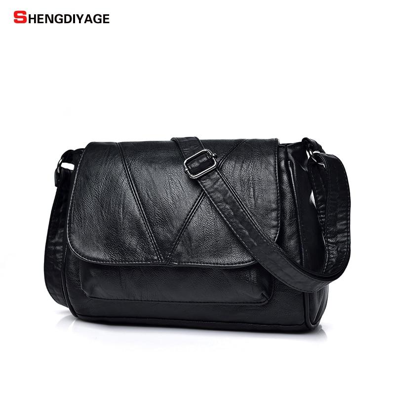 SHENGDIYAGE Women Messenger Bag bao bao Women Handbags Famous Brand Womens Crossbody Bag Bolsos Mujer Designer Women Bag jie bao 400ml