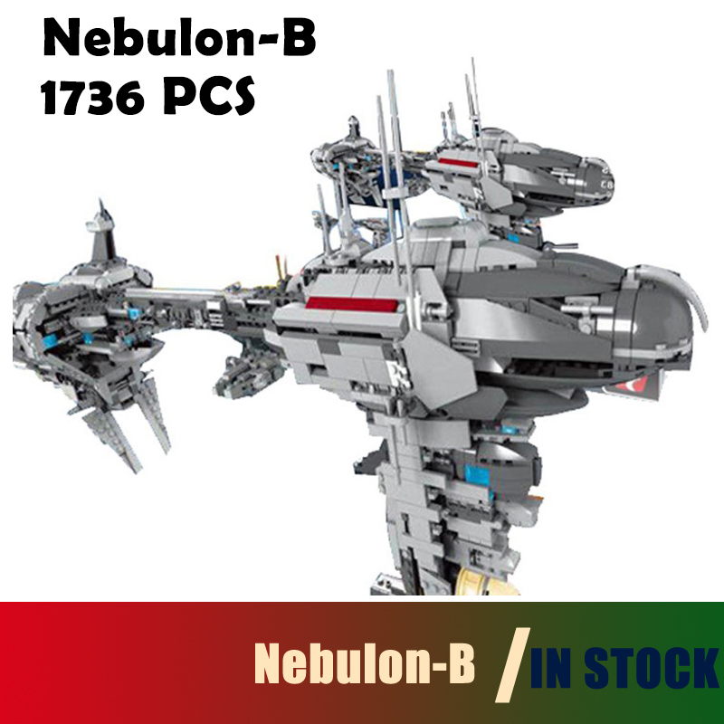 Compatible with Lego Model Building Blocks 05083 Star Series War MOC The Nebulon-B Set Medical Frigate for Children Bricks Toys 2015 high quality spaceship building blocks compatible with lego star war ship fighter scale model bricks toys christmas gift