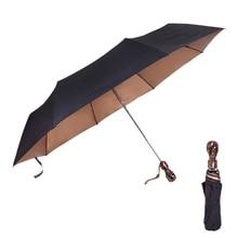 JPZYLFKZL 8K Wind Resistant Folding Automatic Umbrella Rain Women Auto Luxury Big Windproof Umbrellas For Men Black Coating