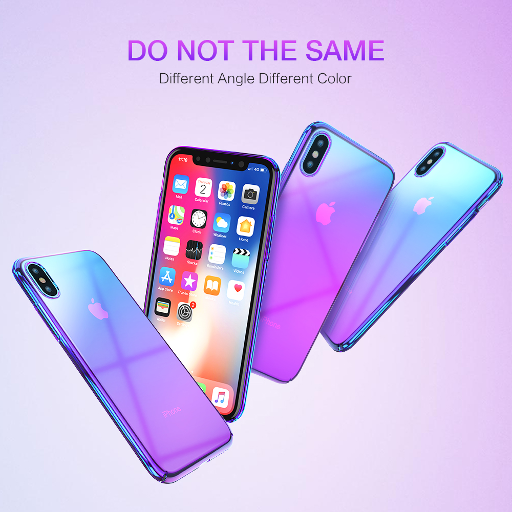 For Iphone X XS MAX Case Plating Plastic For Apple Iphone X 10 Samsung S9 Cover For Iphone XR XS Plus Couqe