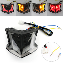 Artudatech Motorcycle ABS Integrated LED Rear Tail Light Lamp For Kawasaki Z900 2017 2018 2019 2020 Accessories