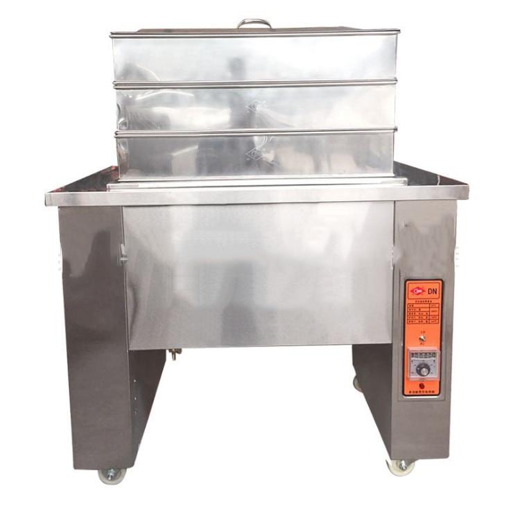 DN-10B Muti-Function Stainless Steel Electric Heating Pot fryer Fried Steam Stew Steamer Fast Heating Machine