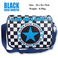 Anime BLACK ROCK SHOOTER Messenger Bag School Bag For Students Kids Children Boys Girls Canvas Bags