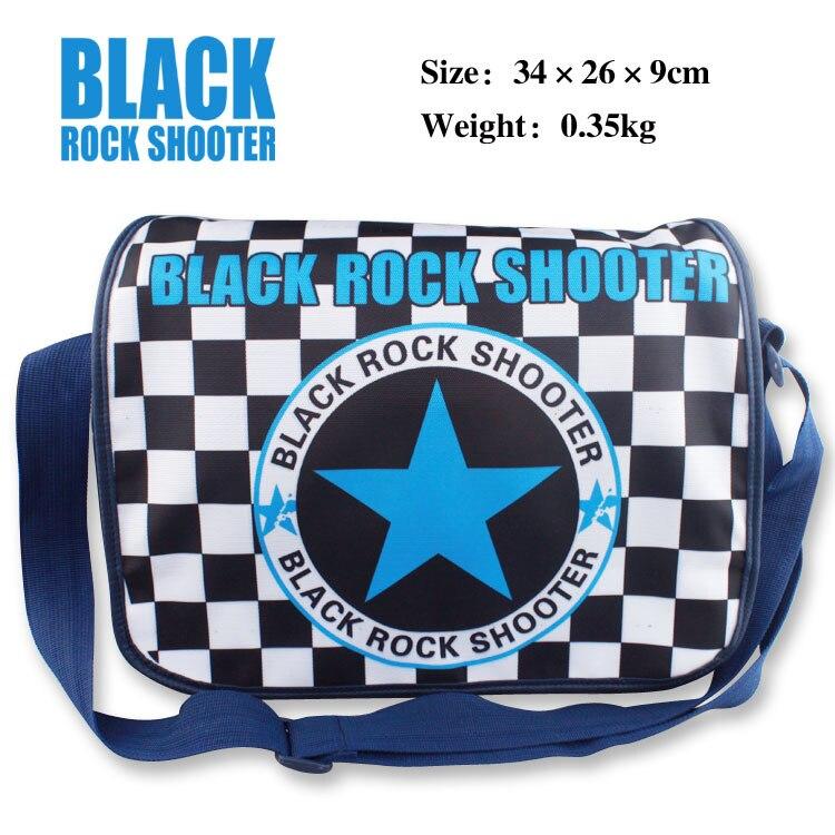 0b3423d5109c5 BLACK ROCK SHOOTER Anime Torba Tornister Dla Studentów Dzieci Dzieci  Chłopcy Dziewczęta Canvas Torby