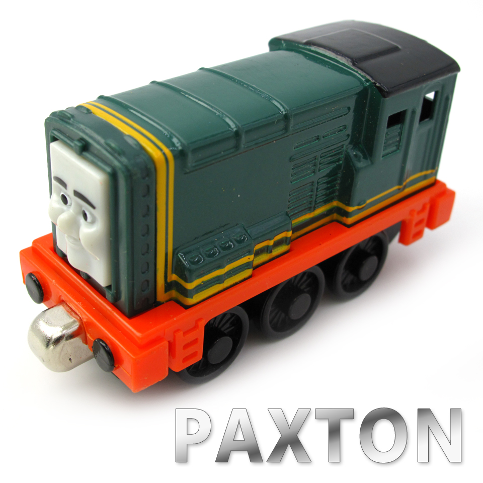 Diecasts Vehicles Thomas T103D PAXTON Thomas And Friends Magnetic Tomas Truck Car Locomotive Engine Railway Train Toys for Boys