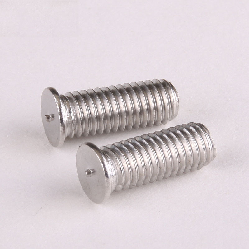 5PCS Special Stainless Steel 304 Screw Welding Screws Spot-Welding Plant Screw Studs M6 * 16 GB902 320pc capacitor discharge welding studs ws 320