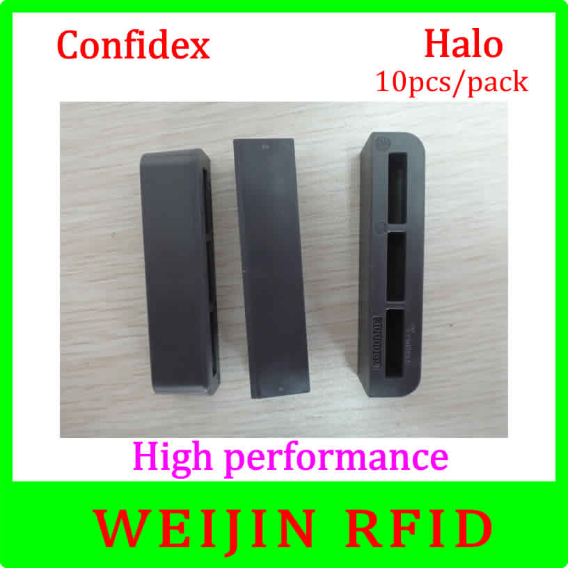 Confidex Halo 10pcs per pack UHF RFID anti metal tag light weight tag with small foot print for asset manage free shipping admin manage