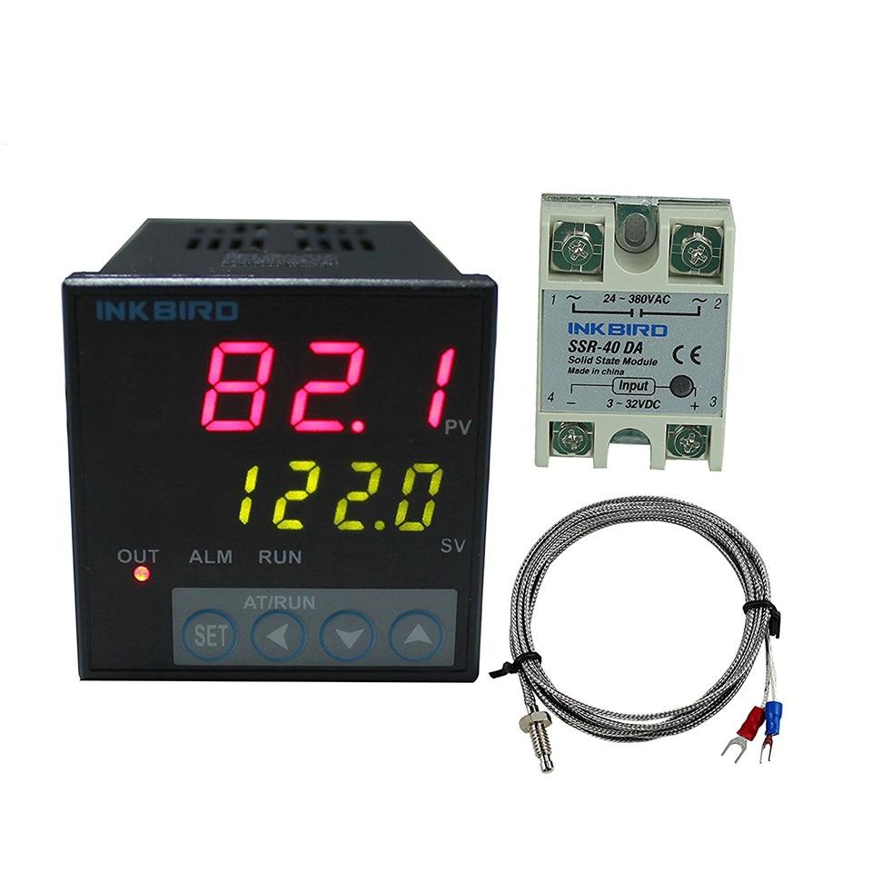 Inkbird ITC-106VH Regulatory temperatury PID + czujnik K + 40A SSR, - Przyrządy pomiarowe - Zdjęcie 3