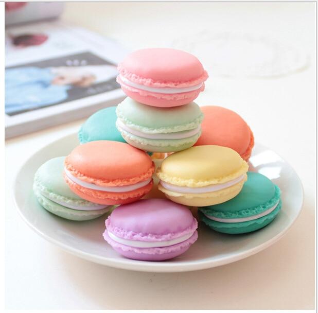 Диспенсер конфетного цвета с зажимом, мини-держатель для хранения, милый Kawaii, подарки, офисные школьные принадлежности, случайный цвет