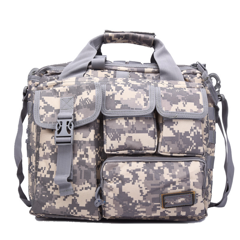 Military Messenger Bag Multifunction Single Shoulder Pack 15 Military Laptop Bags Large Camo Tactics Cossbody Bag ...