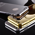 Luxury Make Up Mirror Metal Shell+Acrylic Hard Back Cover For BBK VIVO Y37 Y27 Y33 Y23 Y28 Y29 Y51 Y67 V5 Y66 V3 Max Case Capa