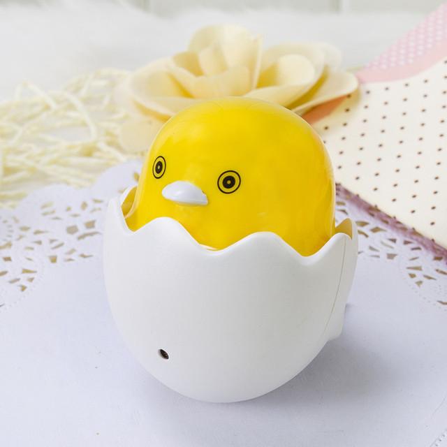 Popular Nightlight Cute Mini Yellow Duck Night Light Children's Bedroom Creative Cartoon Decor Lamp EU Plug