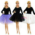 3 Set Differernt Colour Fashion Ballet Skirt Princess Dress Outfit  For Barbie Doll Girl Gift Best Gift Baby Toys