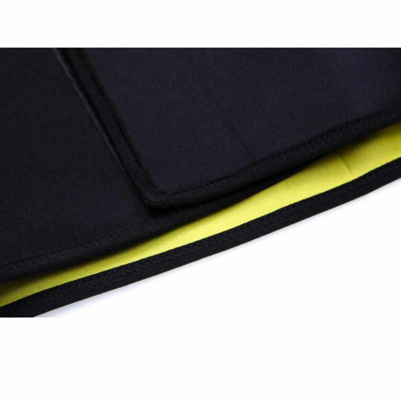 26893d837d556 ... Men s Compression Body Shaper Belt neoprene waist trainer hot shapers  slim corset slimming fitness control girdle