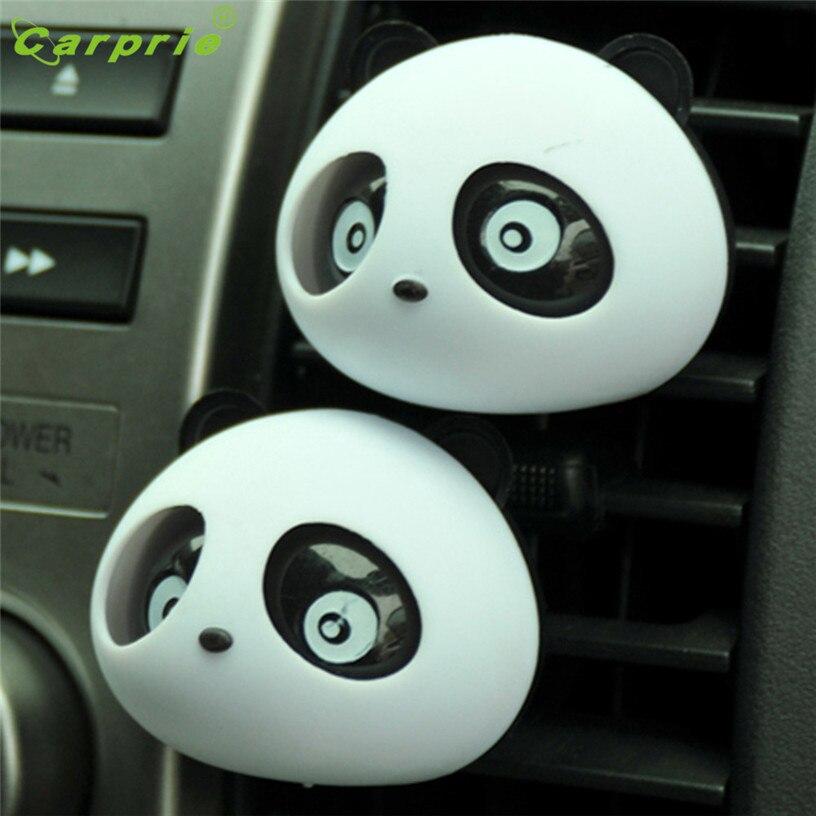 Dropship Hot Selling New 2 x Panda Cute Car Perfume Air Freshener Auto Accessory For Car Gift Jul 13