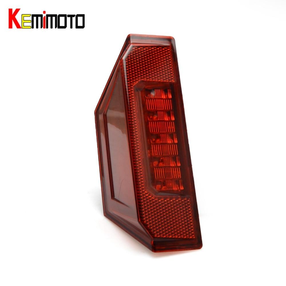 KEMiMOTO Rear Taillight Brake Stop Lamp UTV for POLARIS RANGER XP570 900 CREW 900 RANGER 570 RANGER 1000 RGR 900 XP General