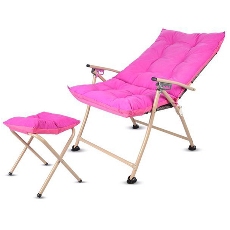 Beach Chair Set Outdoor Furniture Beach Chairs Chaise Lounge Computer Foot Rest Chair Red Coffee Blue Green Living Room Chairs