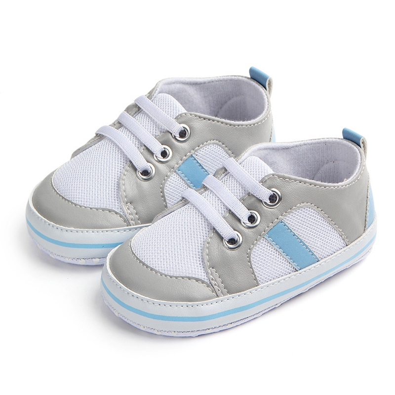 Bobora Baby Boys Shoes Soft Sole Casual First Walkers Toddler Anti-slip Walking Crib Shoes Sneakers