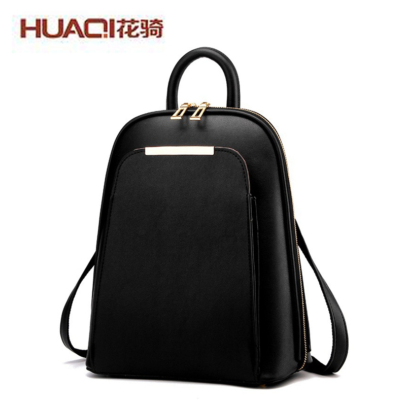 ФОТО 2017 Luxury New Designers Women's Casual Backpack Fashion Famous Brand High Quality Travel School Back Pack Bags Ladies MN234