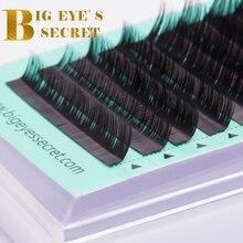 27153bb88df Big eye's secret C D L individual mink eyelashes russian volume eyelash  extensions supplies cilia lashes eyelash extension