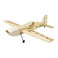 RC Plane Laser Cut Balsa Wood Airplane Extra330 Wingspan 1025mm Balsa Wood Model Building Kit