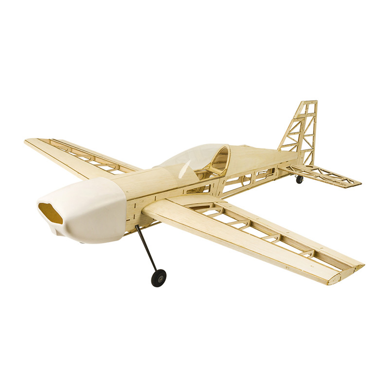 RC Plane Laser Cut Balsa Wood Airplane Extra330 Frame without Cover Wingspan 1000mm Balsa Wood Model Building Kit