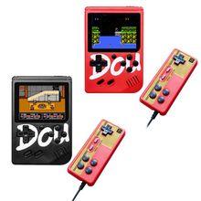 Mini mando de juegos de pantalla colorido de 3 pulgadas con batería de 360 mAh y Mini batería de 850mAh para juegos