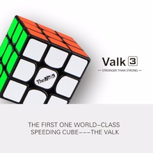 de valk3 magic cube 3x3 speed Magic cube Mofangge 56mm Competition Cubes Toy WCA Puzzle Magic Cube niet magnetisch